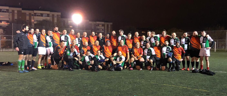 Los veteranos de rugby de Fuencarral, Moralzarzal y Aqrquitectura