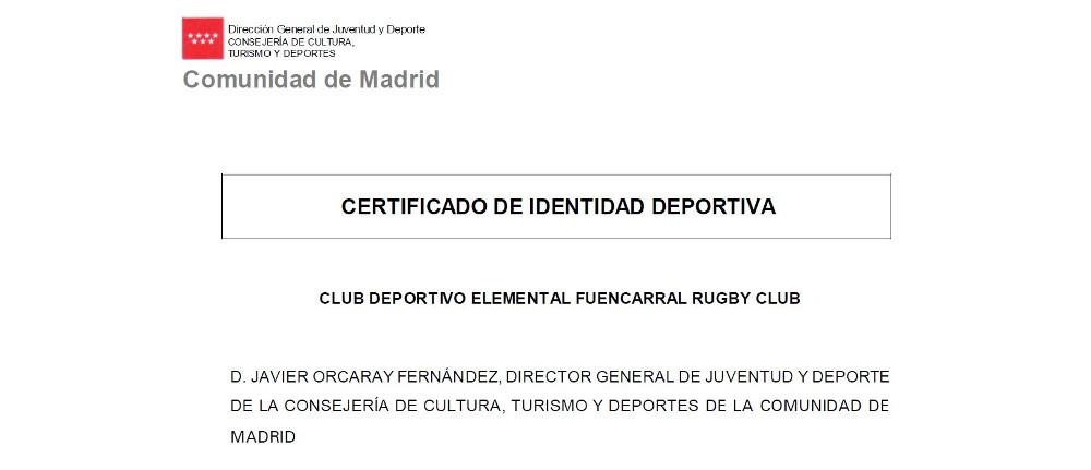 Nace el Fuencarral Rugby Club