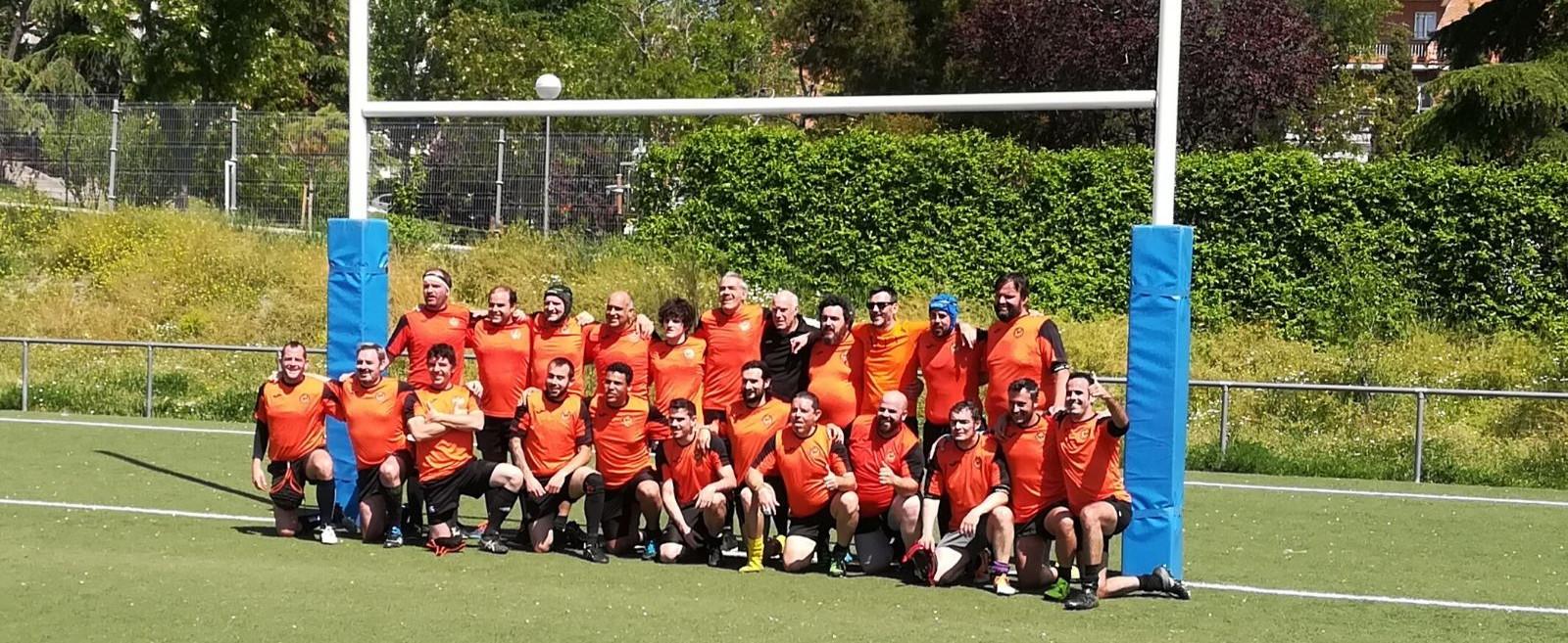 Primer partido de Fuencarral Rugby Club