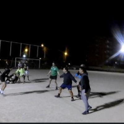 Entrenamiento Rugby Campo Tres Olivos 04/04/18