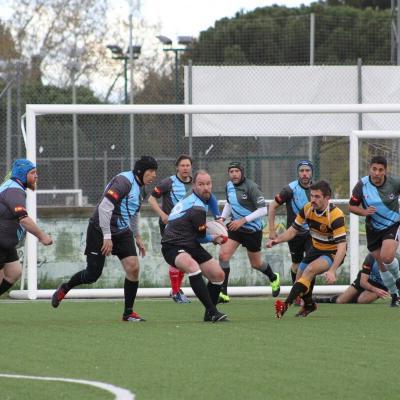 Triangular contra Berliner S.C. y Atleti rugby socios