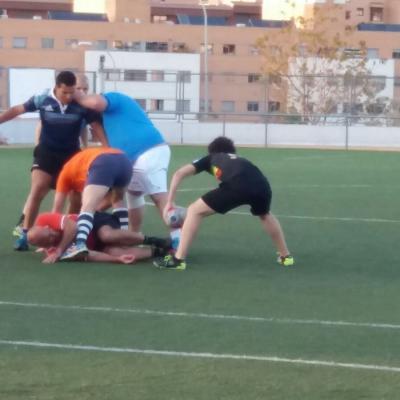 Entrenamiento Rugby Montecarmelo 04/05/18