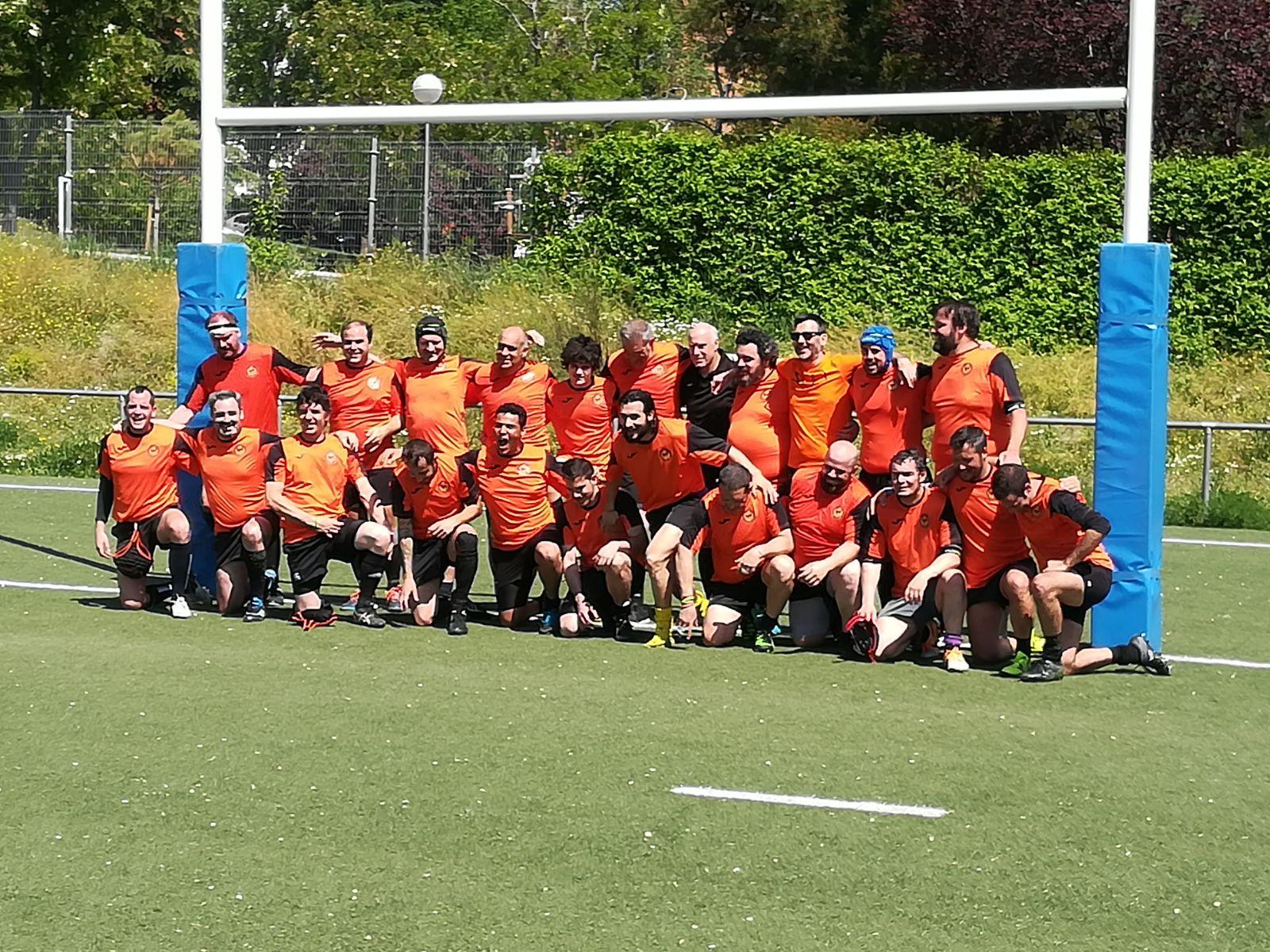 El equipo de veteranos de Fuencarral Rugby volverá a ponerse a prueba