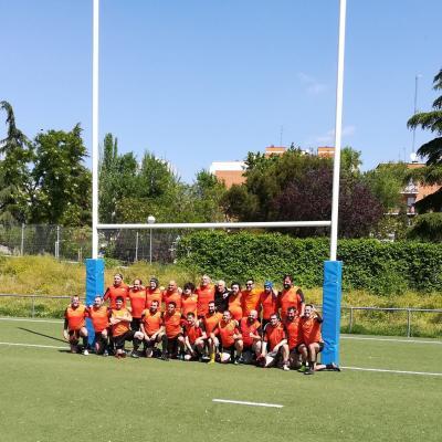 Primer Partido Rugby Fuencarral