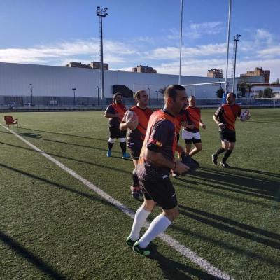 Viaje Torneo Valencia Rugby Fuecarral Veteranos04