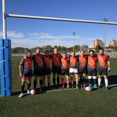 Viaje Torneo Valencia Rugby Fuecarral Veteranos07
