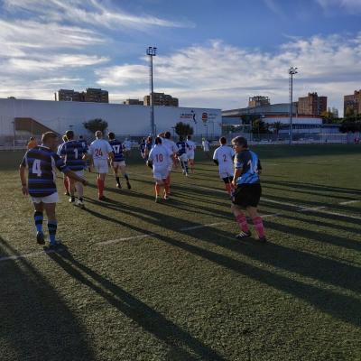 Viaje Torneo Valencia Rugby Fuecarral Veteranos21