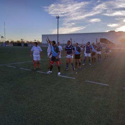Viaje Torneo Valencia Rugby Fuecarral Veteranos30
