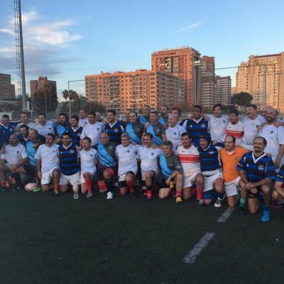 Viaje Torneo Valencia Rugby Fuecarral Veteranos50