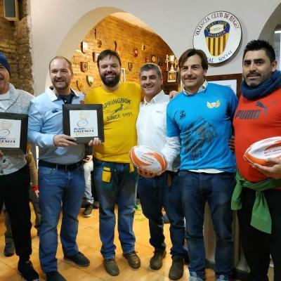 Viaje Torneo Valencia Rugby Fuecarral Veteranos60